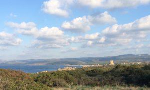 Sardinia View, header shifted right